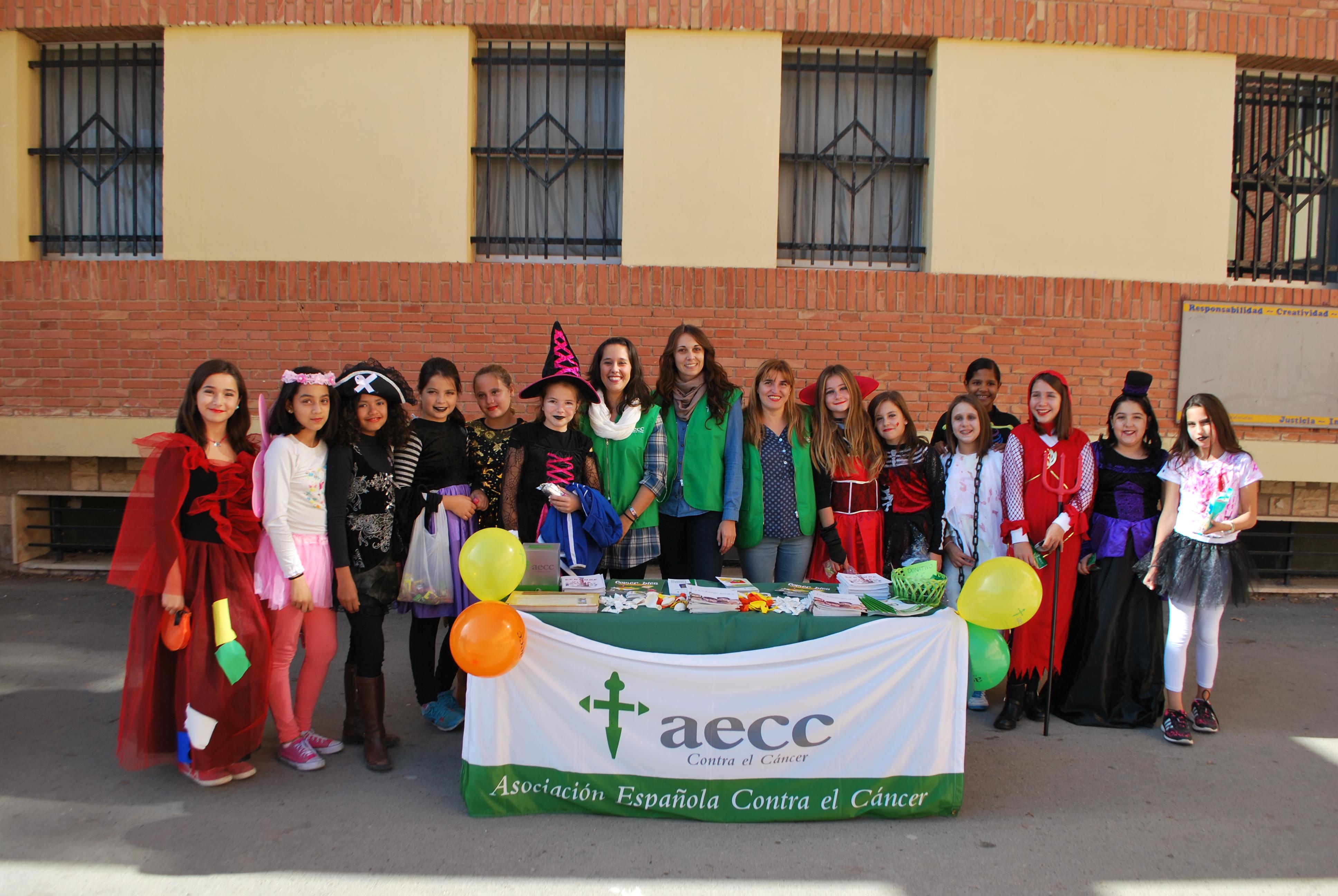 halloween solidario AECC