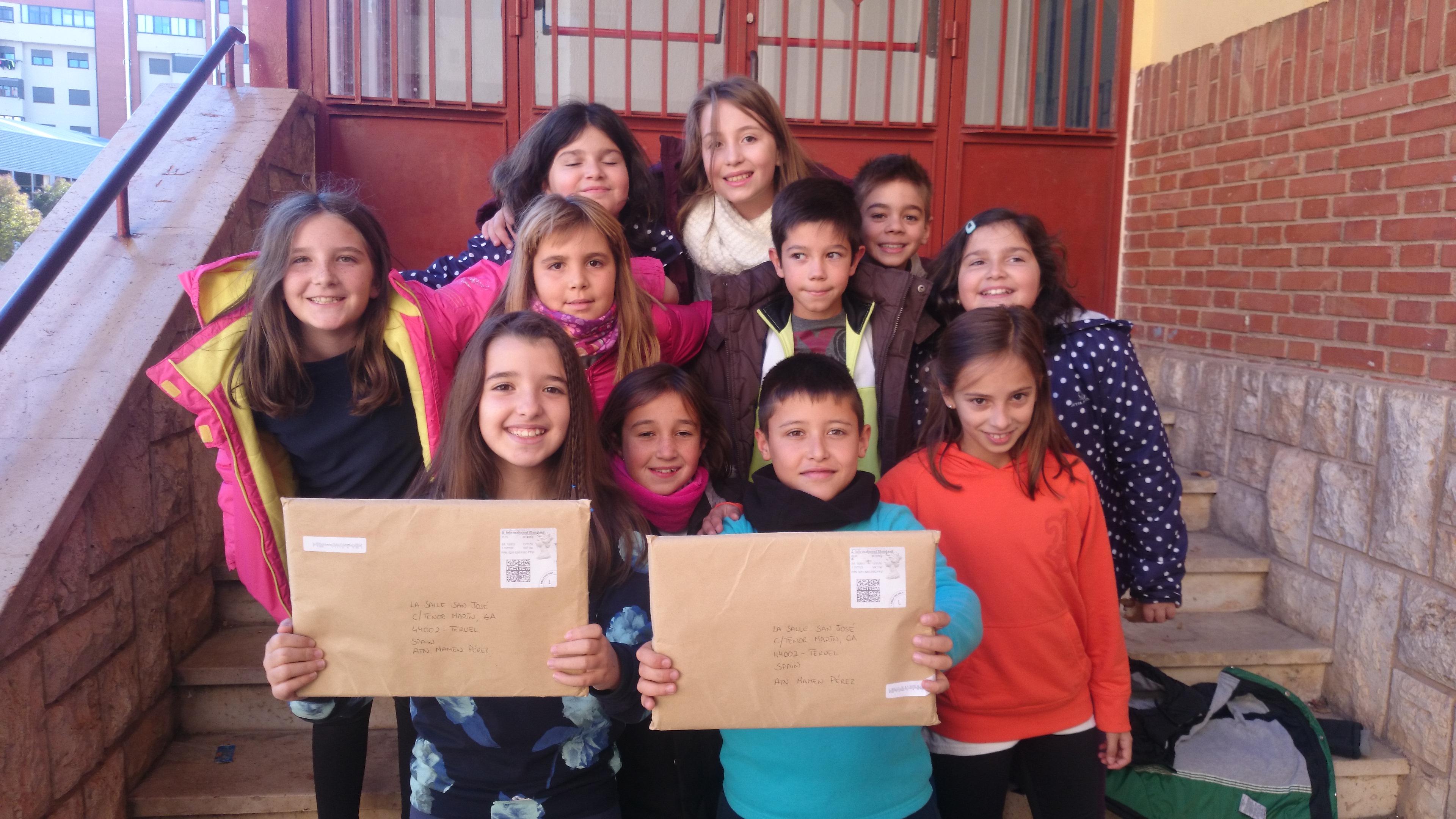 ¡Hemos recibido las cartas de los Penpal friends!