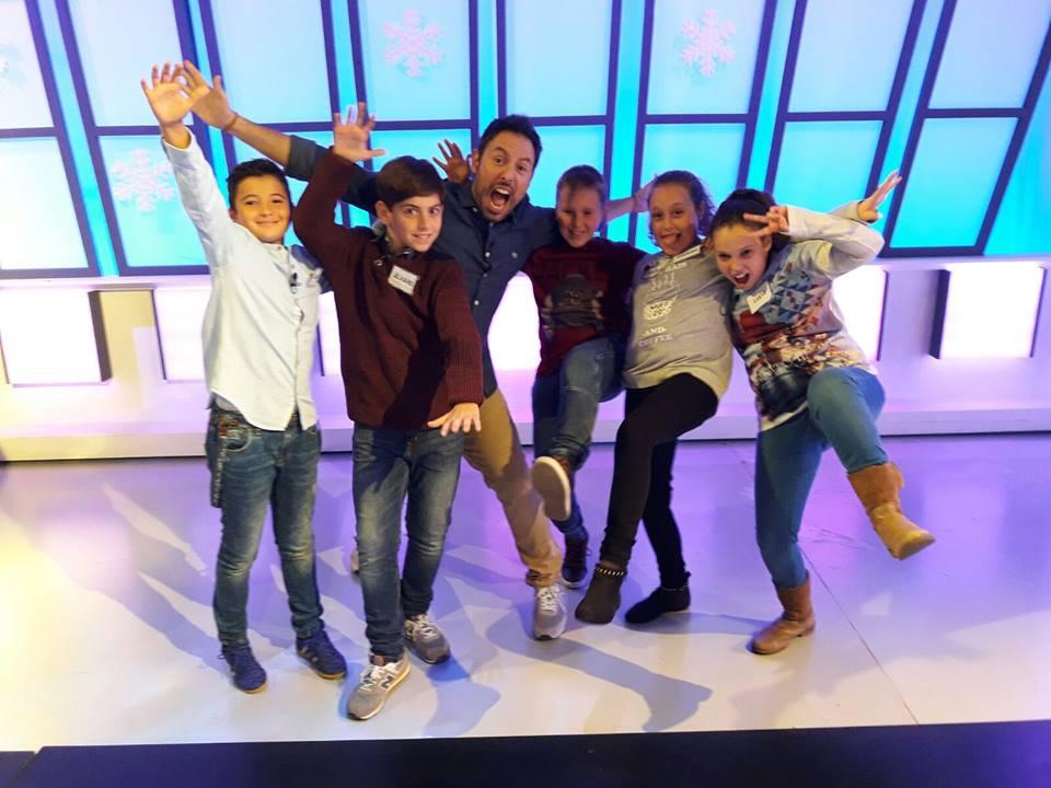 Cuatro alumnos del colegio participan en el concurso «Atrápame si puedes» de Aragón Televisión