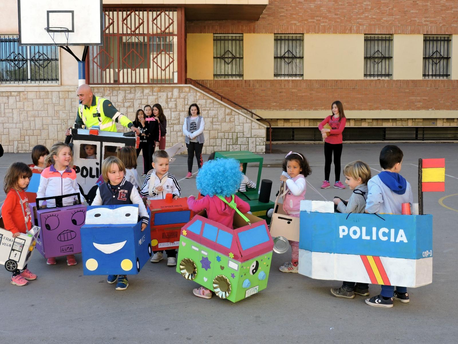 Circuito Vial Para Niños : Educación infantil realiza un proyecto sobre los medios de