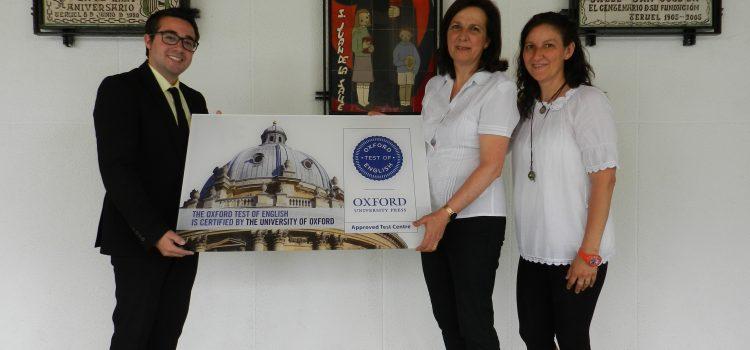 El colegio La Salle San José, centro examinador que realizará el Oxford Test of English  en la ciudad de Teruel