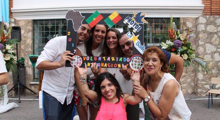 Celebración del Envío de Voluntarios Internacionales de PROYDE
