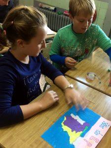 Los alumnos de 6º aprenden los ríos con una metodología muy divertida