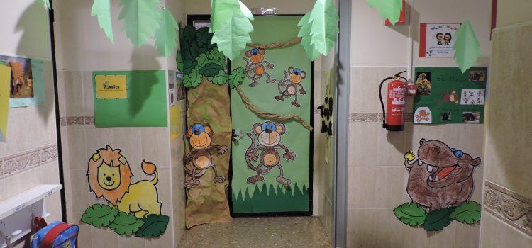 Los alumnos de infantil inmersos en el mundo de los animales