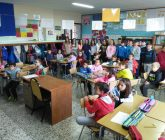 Alumnos de 2º y 6º de Primaria redactan conjuntamente un cuento de Navidad