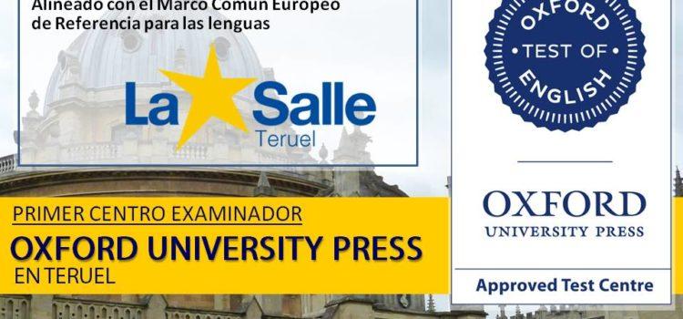 31 de mayo: nueva convocatoria exámenes de Oxford (B1 y B2)