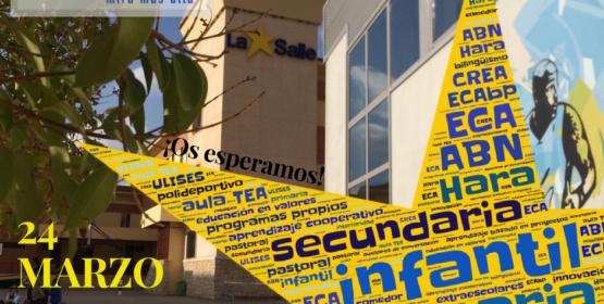 24 de Marzo Jornada de Puertas Abiertas ·Rellena el formulario ·