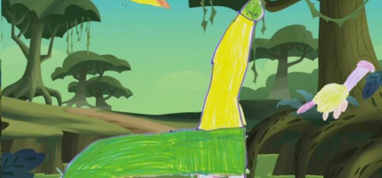 Los niños de Infantil crean un cuento audiovisual con sus voces y dibujos