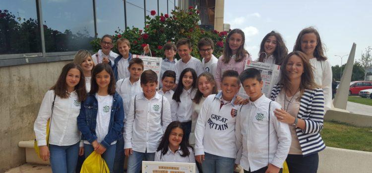 """Los alumnos de 6º han creado su propia empresa: """"Teruel sobre ruedas"""""""