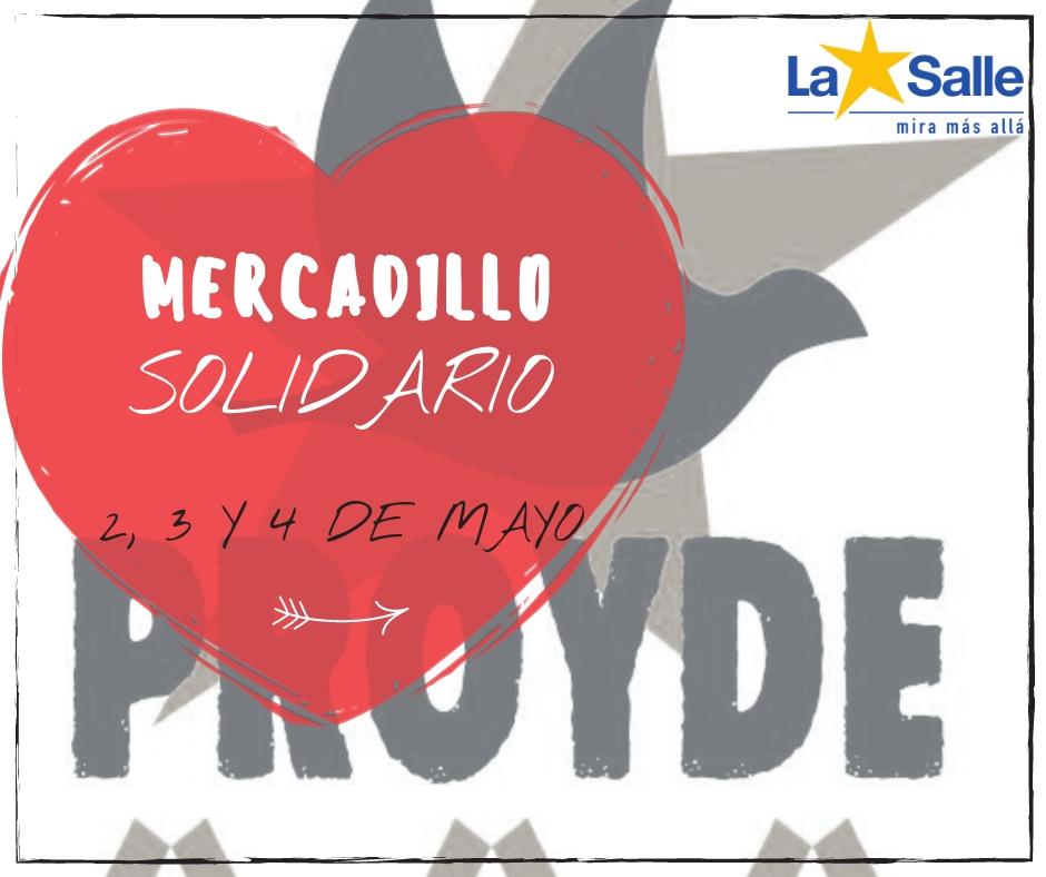 Mercadillo solidario de PROYDE ¡¡te esperamos!!