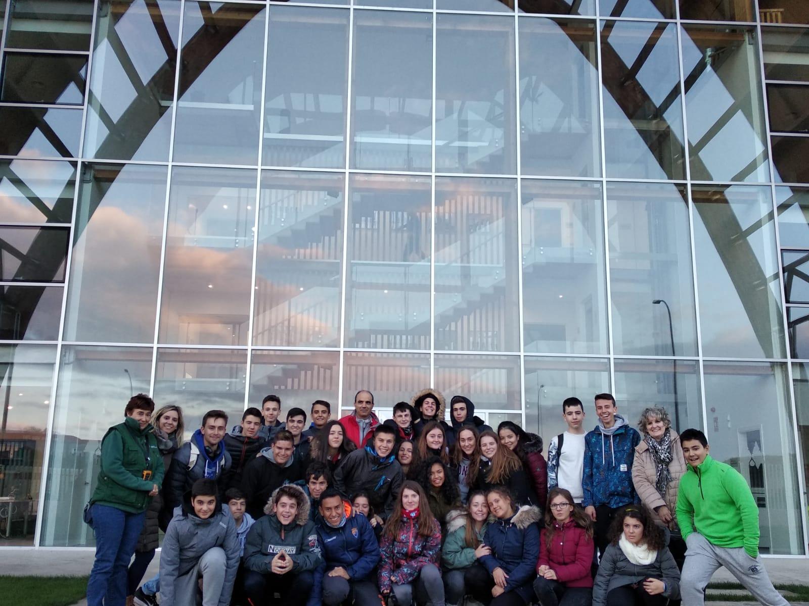Los alumnos de 4º ESO visitan tierras sorianas