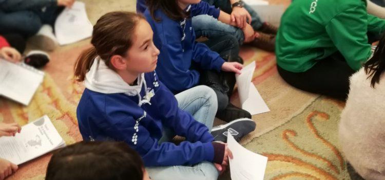 Alumnos de 5º y 6º participan en la lectura de la constitución