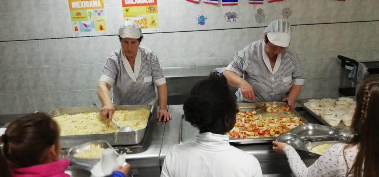 Jornada Tailandesa en el comedor