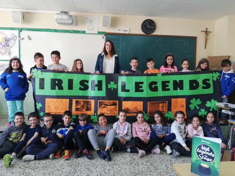 """Irish legends on stage"",  proyecto interdisciplinar sobre leyendas irlandesas"
