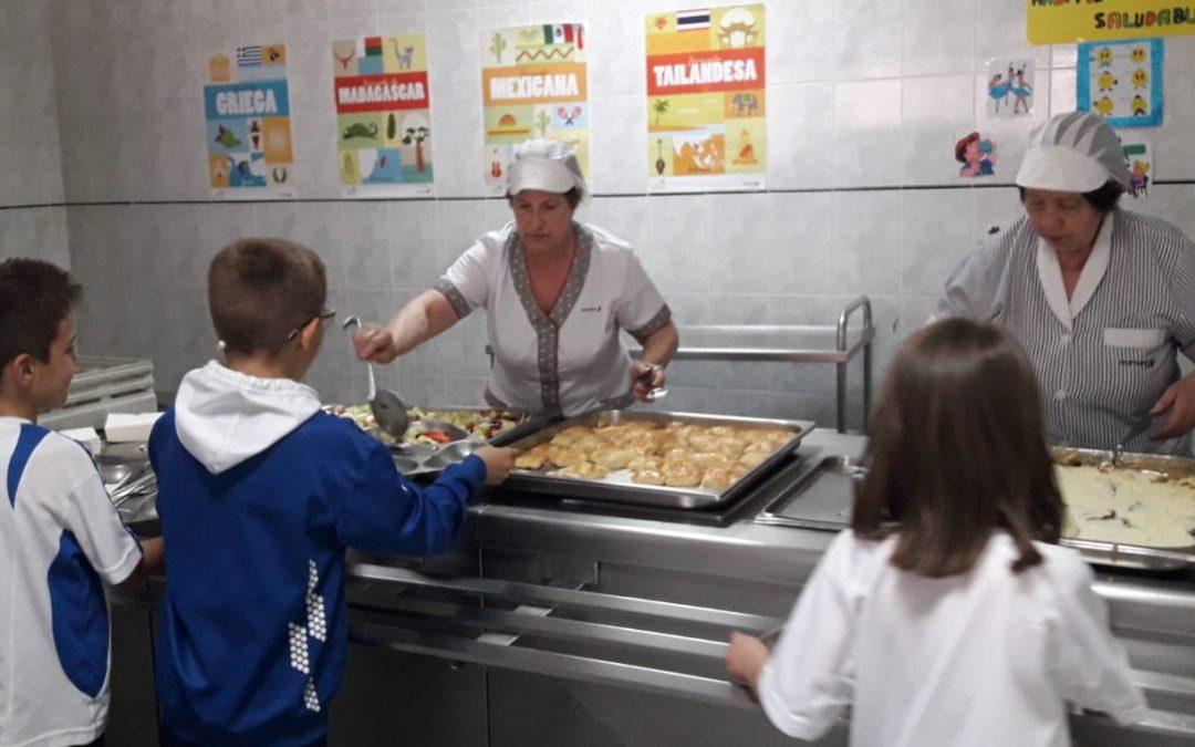 El comedor continúa con sus jornadas gastronómicas internacionales