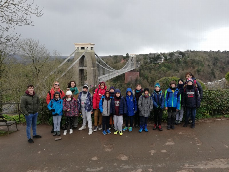 Alumnos de 5º viajan a Bristol