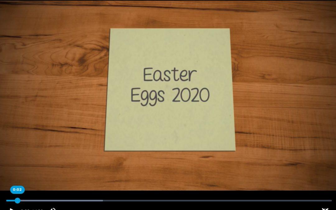 Easter Egg Hunt at Home