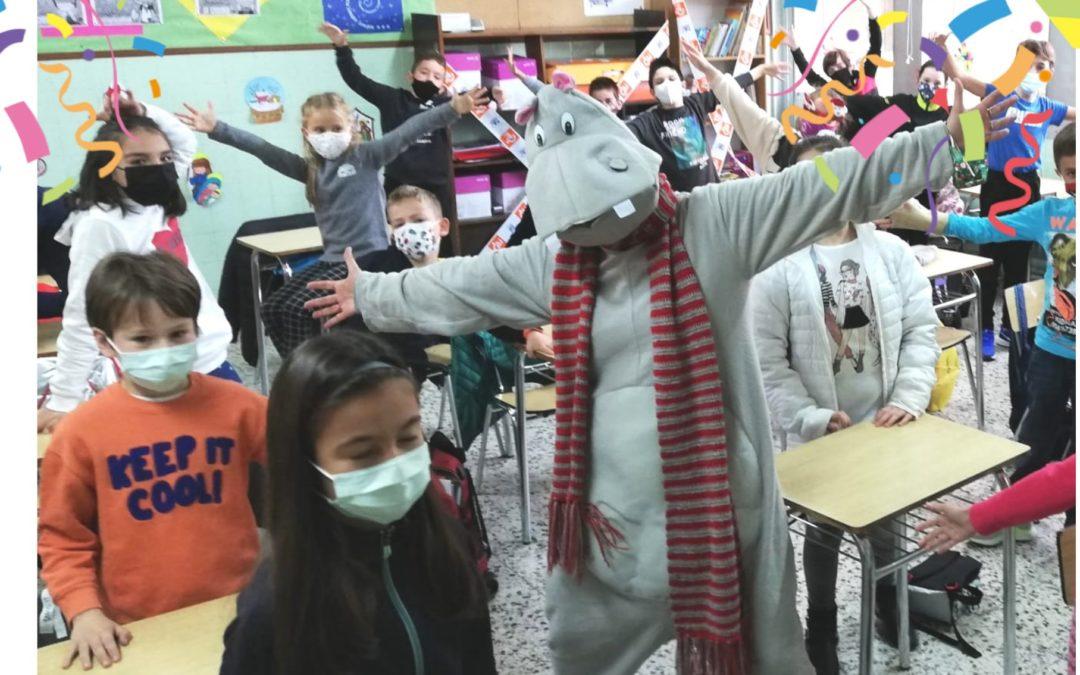 Hippo en clase (for Christmas)