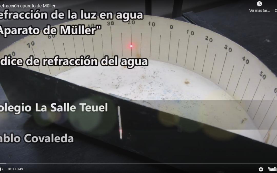 Experimento a la vista: Nuevo vídeo sobre la refracción de la luz