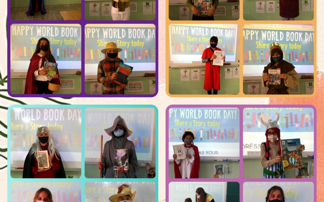 ¡Celebramos el WORLD BOOK DAY!  Exposiciones orales en inglés