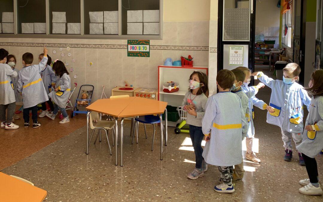 NCA y trabajo cooperativo en Infantil